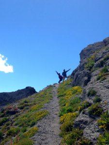Pass to Mendota Peak, Telluride, Colorado