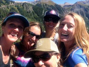 5 Mountain chicks on a hike - Telluride, Colorado