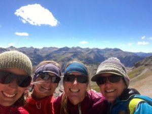 4 Mountain ladies - Mendota Peak, Telluride, Colorado