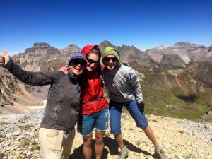 3 Mountain girls - Mendota Peak, Telluride, Colorado