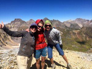3 Mountain girls - Mendota Peak, Telluride, Colorado