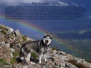 Luna rainbow thunder-snowstorm Mount Shavano